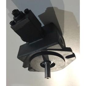 Pompe à palettes à débit variable