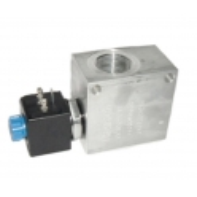 Electro distributeur à clapet + bobine + bloc foré