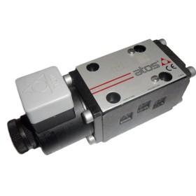 Solenoid direct. control valve